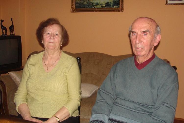 fot. E. Pryczkowski:   Wanda i Władysław Pranga z Rumi
