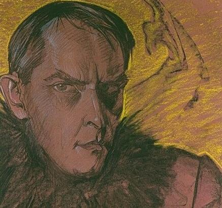 fot. gk:   Autoportret Witkacego z 1927 r.