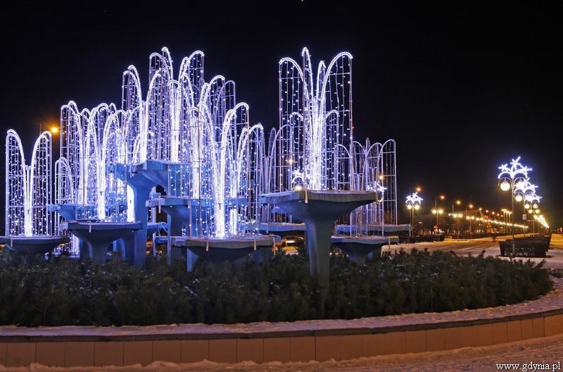 fot. świąteczna iluminacja - Gdynia/UM Gdyni