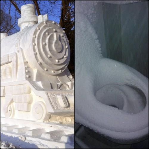 fot. fot. rzeźba lodowa i rzeczywistość/GK