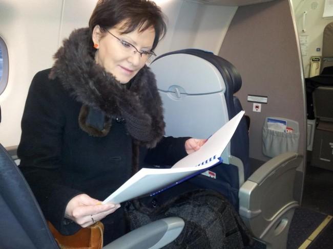 fot. Marszałek Sejmu Ewa Kopacz/strona facebook Ewy Kopacz