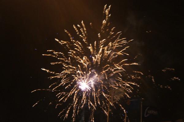 fot. Pokaz fajerwerków na MOSiRze w Rumi/J.C.
