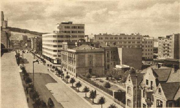 Fot Archiwum:  Ul. 10 lutego w 1939 roku.