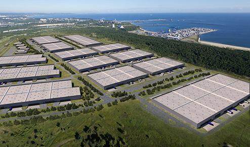 fot. Pomorskie Centrum Logistyczne/Goodman.pl