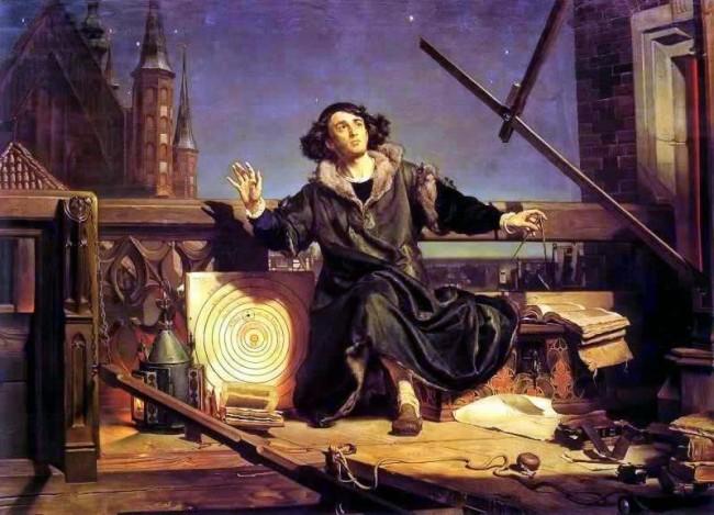 Astronom Kopernik, czyli rozmowa z Bogiem, obraz Jana Matejki.