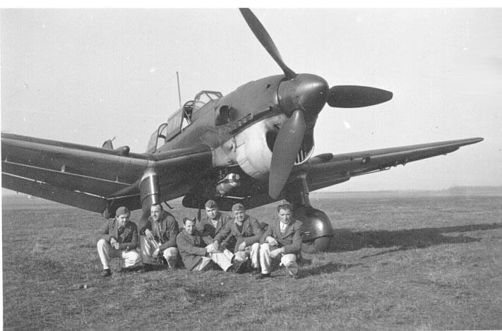 Fot. Bundesarchiv w Niemczech: Niemcy wyprodukowali 6500 takich Junkersów