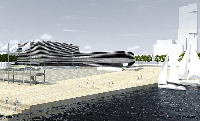 Sala koncertowa w Gdyni - autor: Łukasz Mandziara
