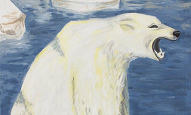 Niedźwiedź polarny / aut. Oliwia Gulida i Milena Sikorska