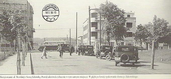 Fot. Archiwum:  Orłowo w budowie - lipiec 1938 roku