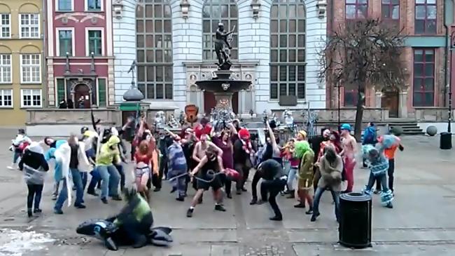 fot. Harlem Shake Gdańsk/YouTube