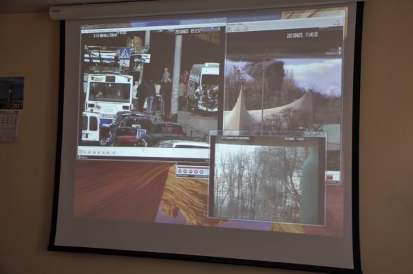 Konferencja prasowa w Miejskim Centrum Powiadamiania Ratunkowego fot. Michał Kowalski