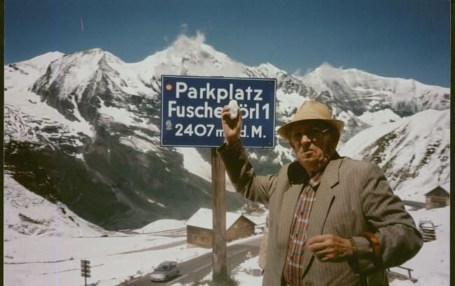 Bolesław Bork – Kaszuba/Lesôk w Alpach (2002 rok).
