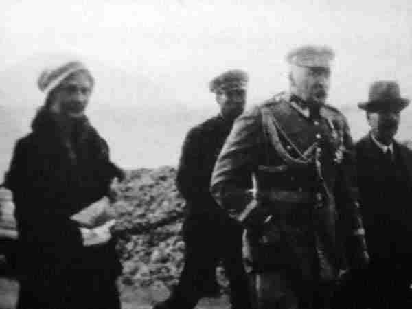 Eugenia Lewicka i Józef Piłsudski / fot. j.pilsudski.org