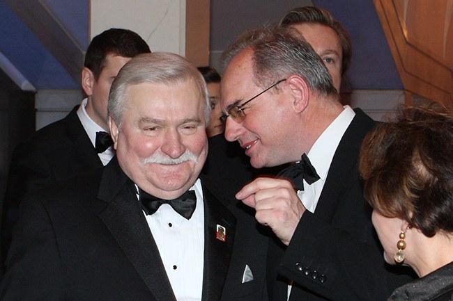 Lech Wałęsa i Jan Król