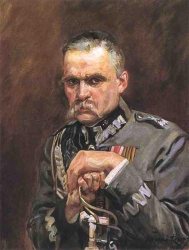 Portret Józefa Piłsudskiego pędzla Wojciecha Kossaka / Muzeum Narodowe w Warszawie