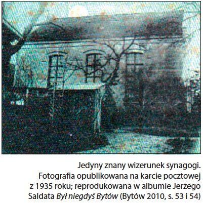Zarys Bytowskiej Synagogi