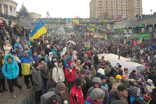 Majdan. fot. spoilt.exile /CC/Flickr