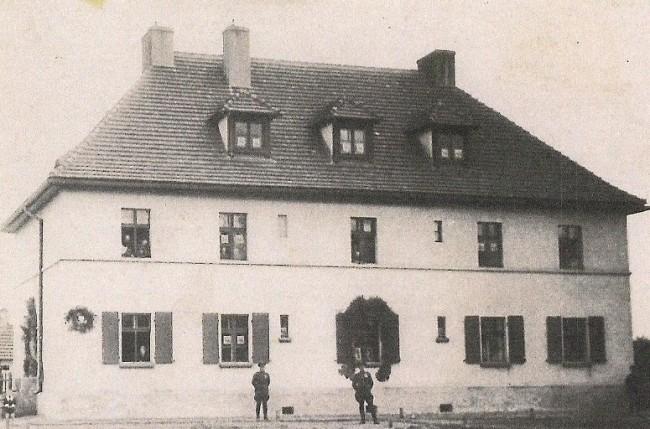 Budynek Straży Granicznej Placówki Babilon Zdj. Maria Rogenbuk