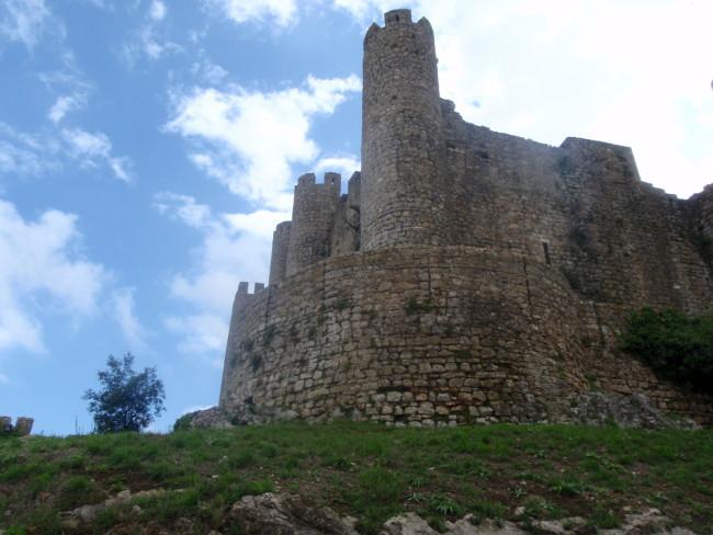Zamek w Obidos.