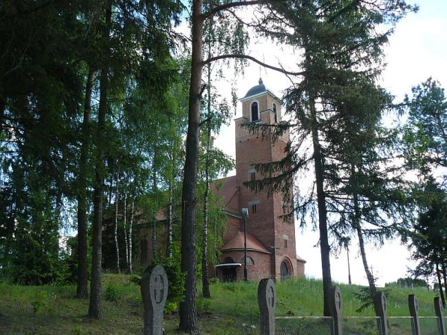 Kościół  pw Chrystusa Króla w Zapceniu