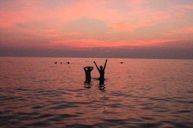 Wschód słońca, Koh Pahgnan