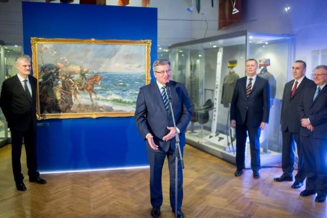 fot. Facebook / Bronisław Komorowski