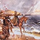 Wojciech Kossak - Zaślubiny Polski z morzem