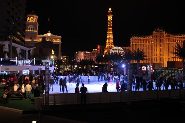 fot. sztuczne lodowisko w Las Vegas/GK