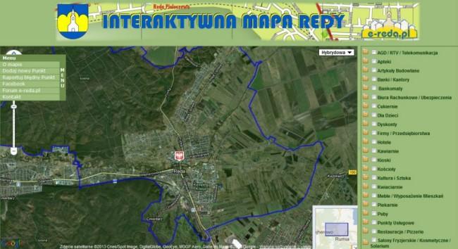 fot. Obraz Interaktywnej Mapy Redy/facebook