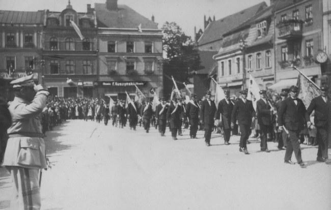 Gen. Józef Haller w Kościerzynie (1934 r.) zdj w archiwum NG