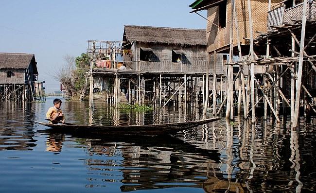 fot. Magdalena Horanin: Birma. Inle Lake