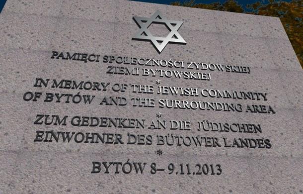 Tablica Pamięci o Bytowskich Żydach